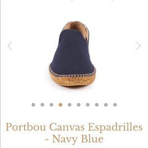 Navy blue men's viscata espadrilles
